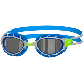 Zoggs Predator Mirror Goggles Kinderen, green/blue/mirror